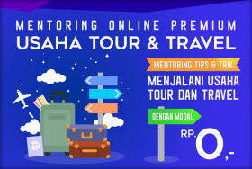 Mentoring Usaha Tour & Travel Premium